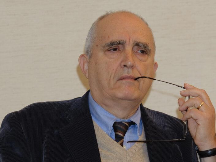 """Dino Cofrancesco al convegno """"Liberalismo, democrazia e socialismo dall'Unità d'Italia alla Carta costituzionale"""", Avellino, 14-15 ottobre 2010."""