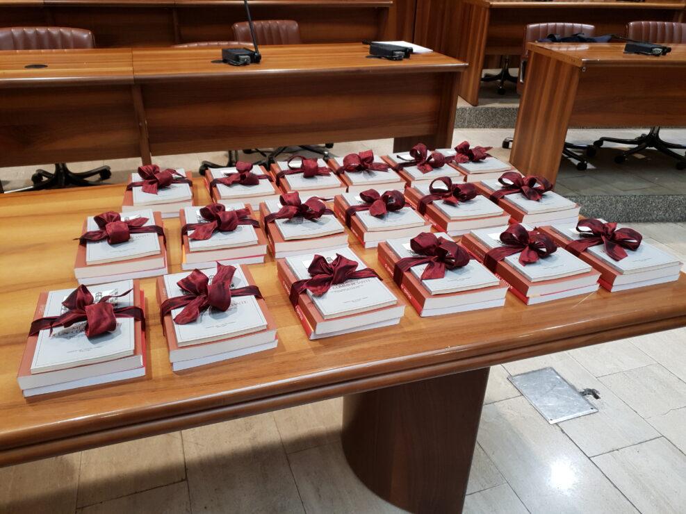 """Premiazione del """"Corso avanzato per l'avvio all'istruzione superiore, alla ricerca e alle professioni"""", Avellino 8 settembre 2018."""