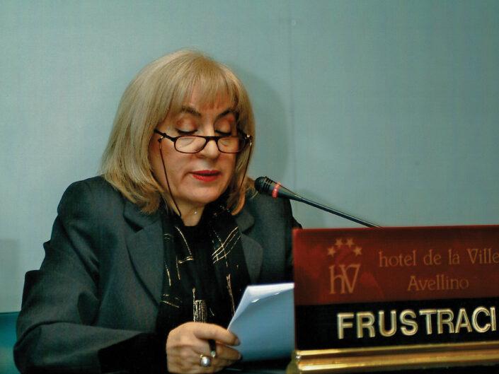 """Rosalba Galvagno al convegno """"Ritratto di Carlo Muscetta"""", Avellino 6-8 aprile 2005."""