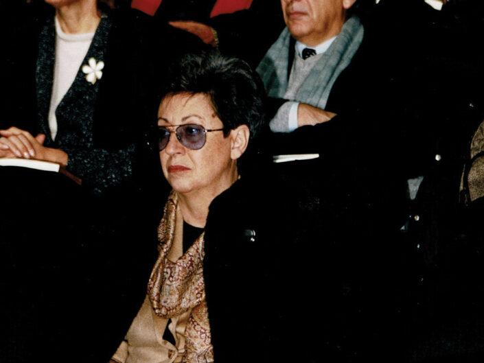 """Elisa Dorso al convegno """"A sessant'anni dal convegno di Bari"""", Avellino 18 dicembre 2004."""